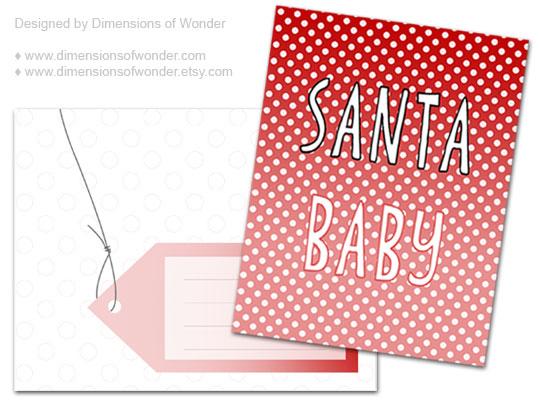 Free-printable-Christmas-Card-Santa-Baby-1