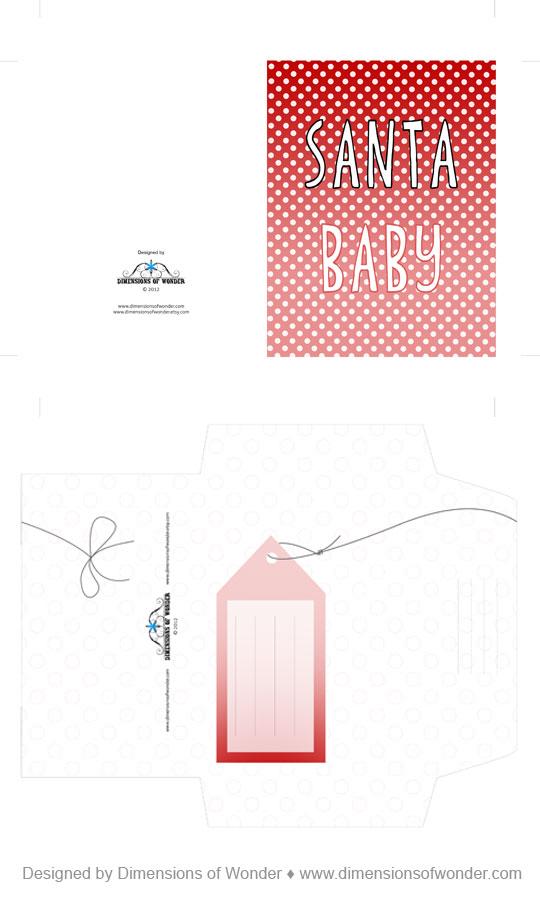 Free-printable-Christmas-Card-Santa-Baby