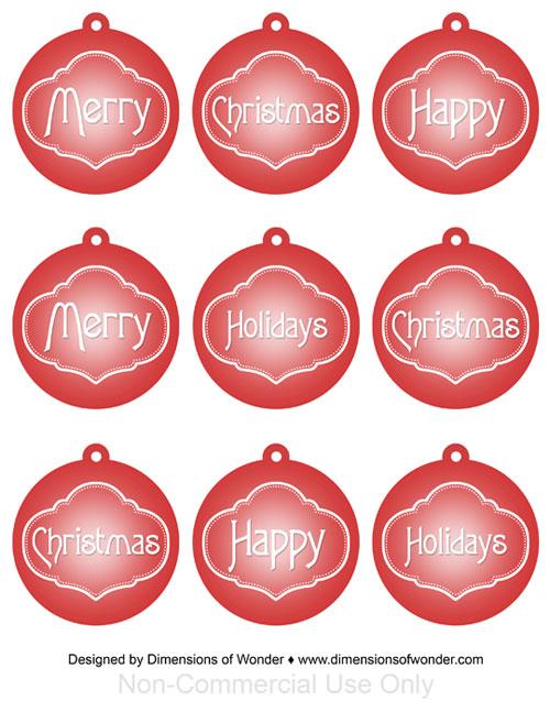 Printable-Christmas-Ornaments-Free-Red