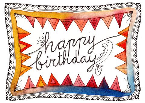 free printable birthday card size 5x7