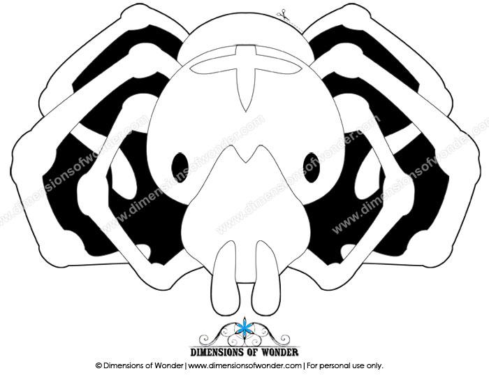 free printable spider mask, printable Halloween masks, free printable masks for kids, free printable masks for children, masks to color