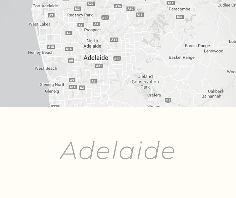 Adelaide history and origin of the name and place
