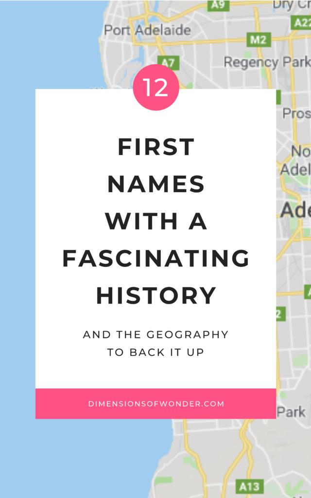 beautiful baby names classic history