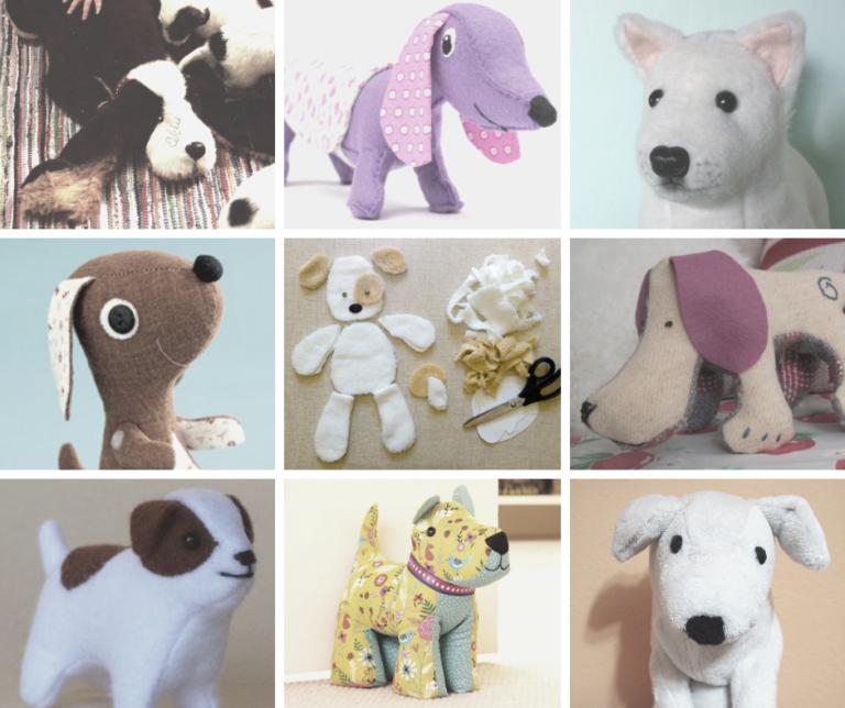 free printable dog toy sewing patterns