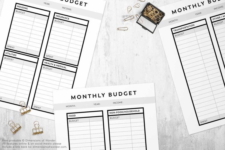 free-printable-monthly-budget-planner