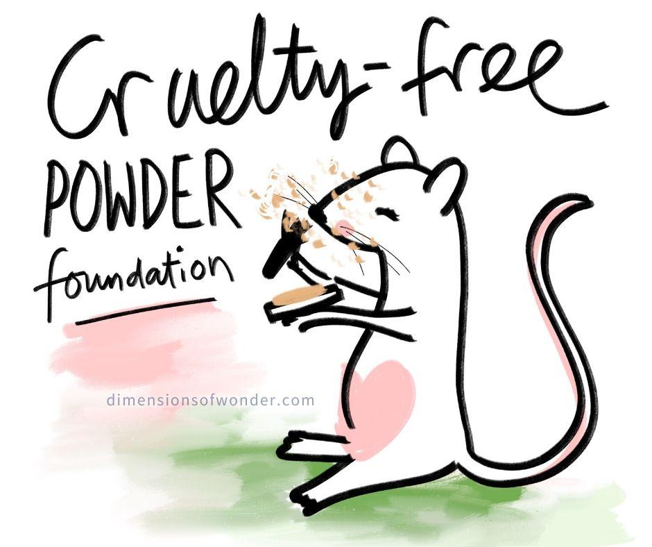cruelty free powder foundation natural ingredients