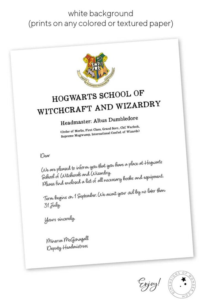 Harry-Potter-letter-white-background