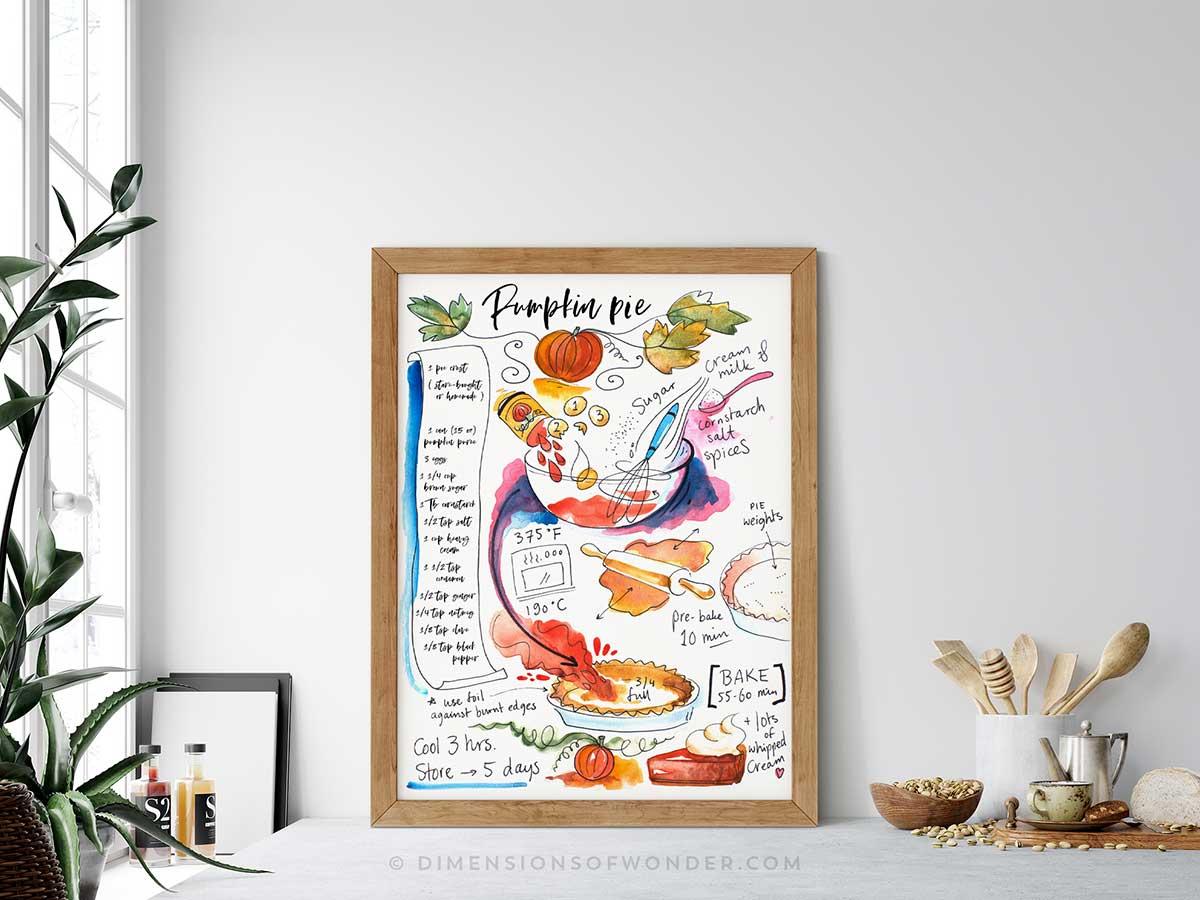Pumpkin-Pie-illustrated-recipe-art-mockup006
