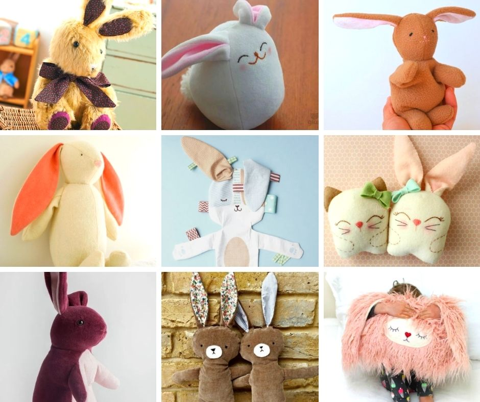 free bunny sewing pattern top 10