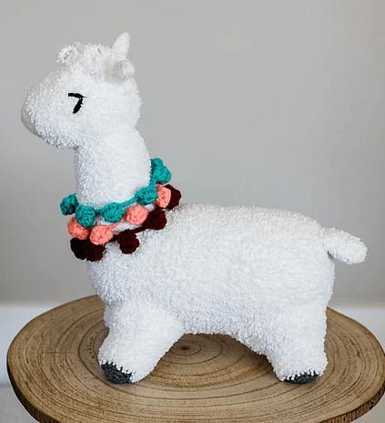 Allie the alpaca