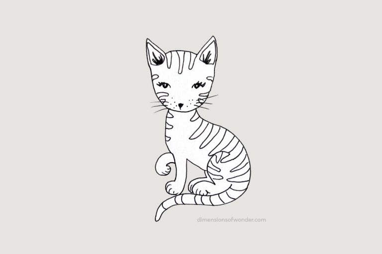 doodle-cute-striped-cat-step-by-step