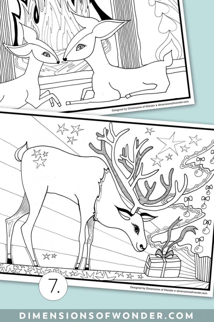 Winter-Coloring-Pages-Gifts-Img1